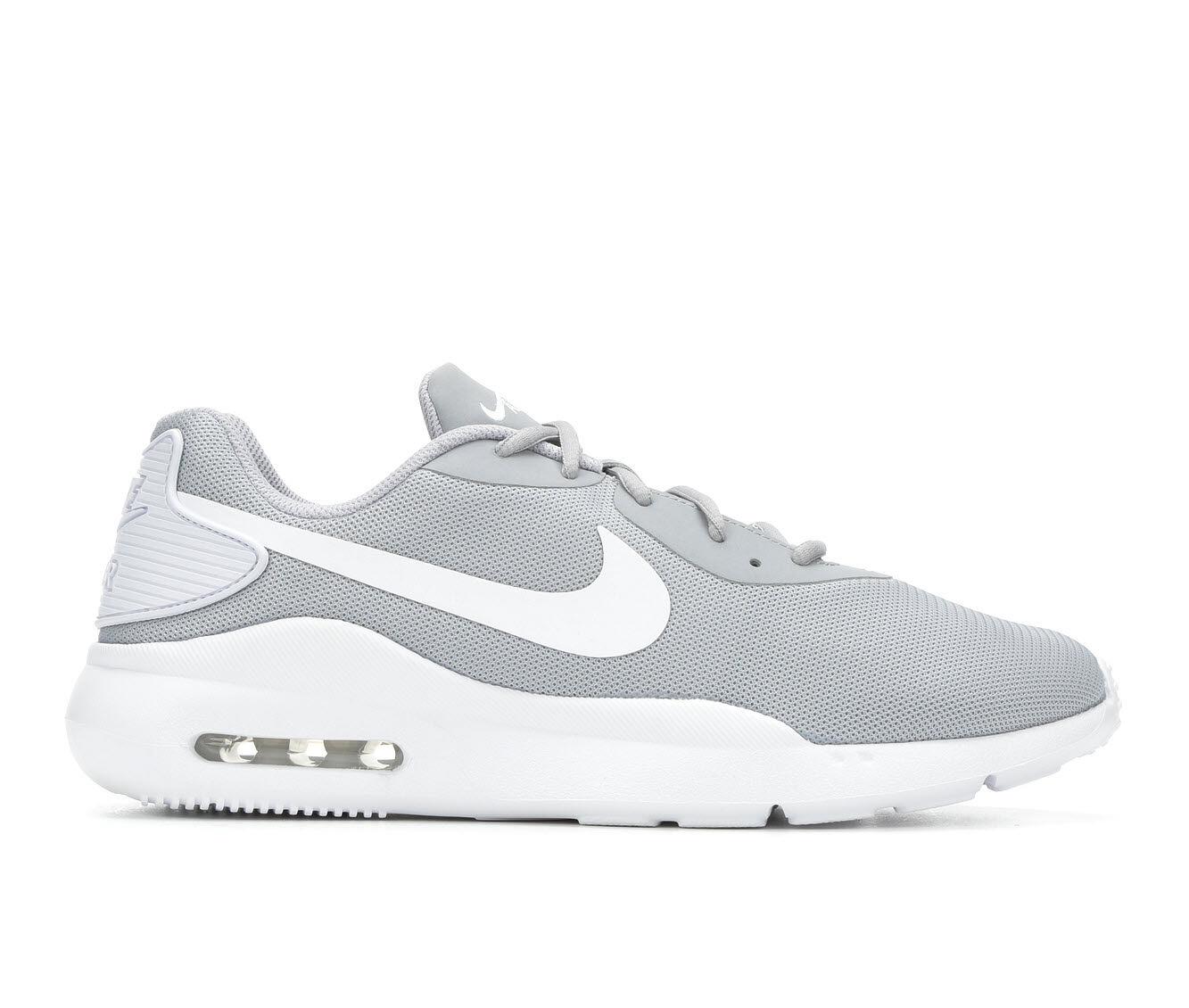 Men's Nike Air Max Oketo Sneakers Gry/Wht 003