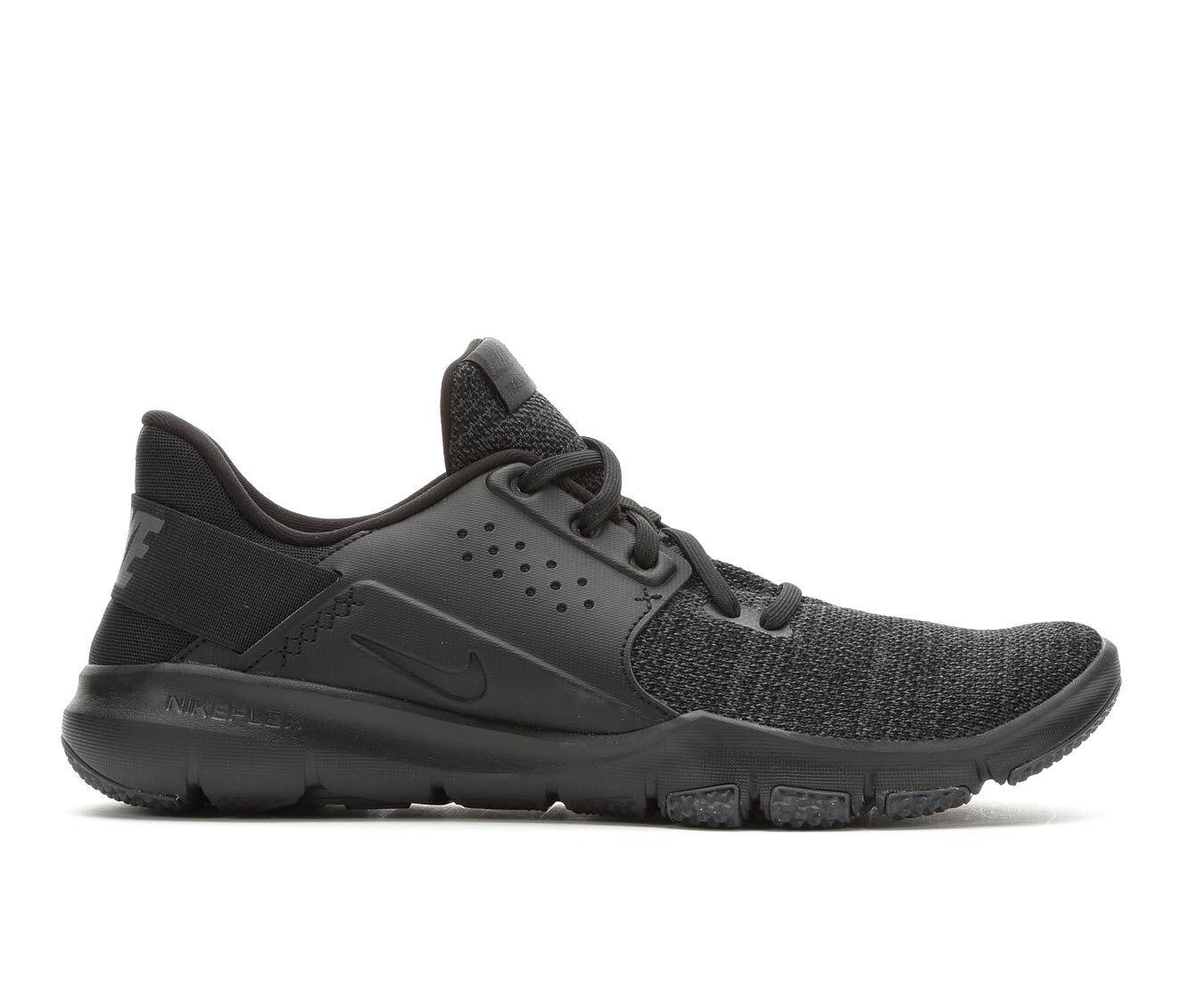 Men's Nike Flex Control TR3 Training Shoes Blk/Blk/Wht