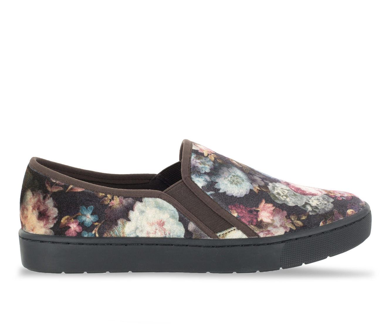 Women's Easy Street Plaza Sneakers Floral Velvet