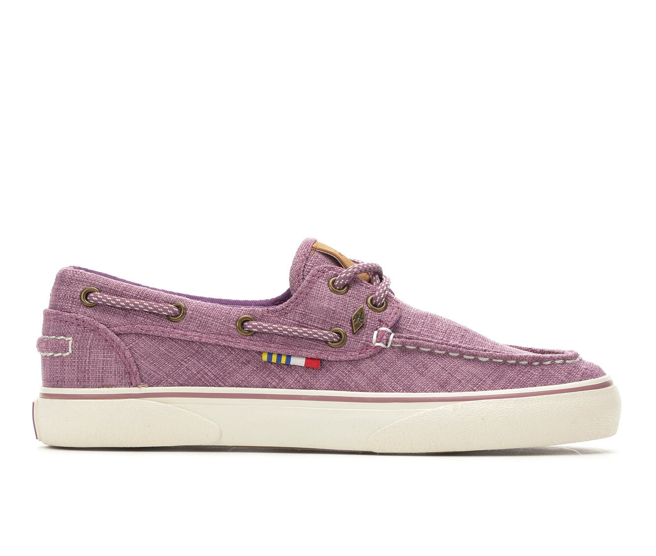 Women's Guy Harvey Gulf Sneakers Purple/Off Whit