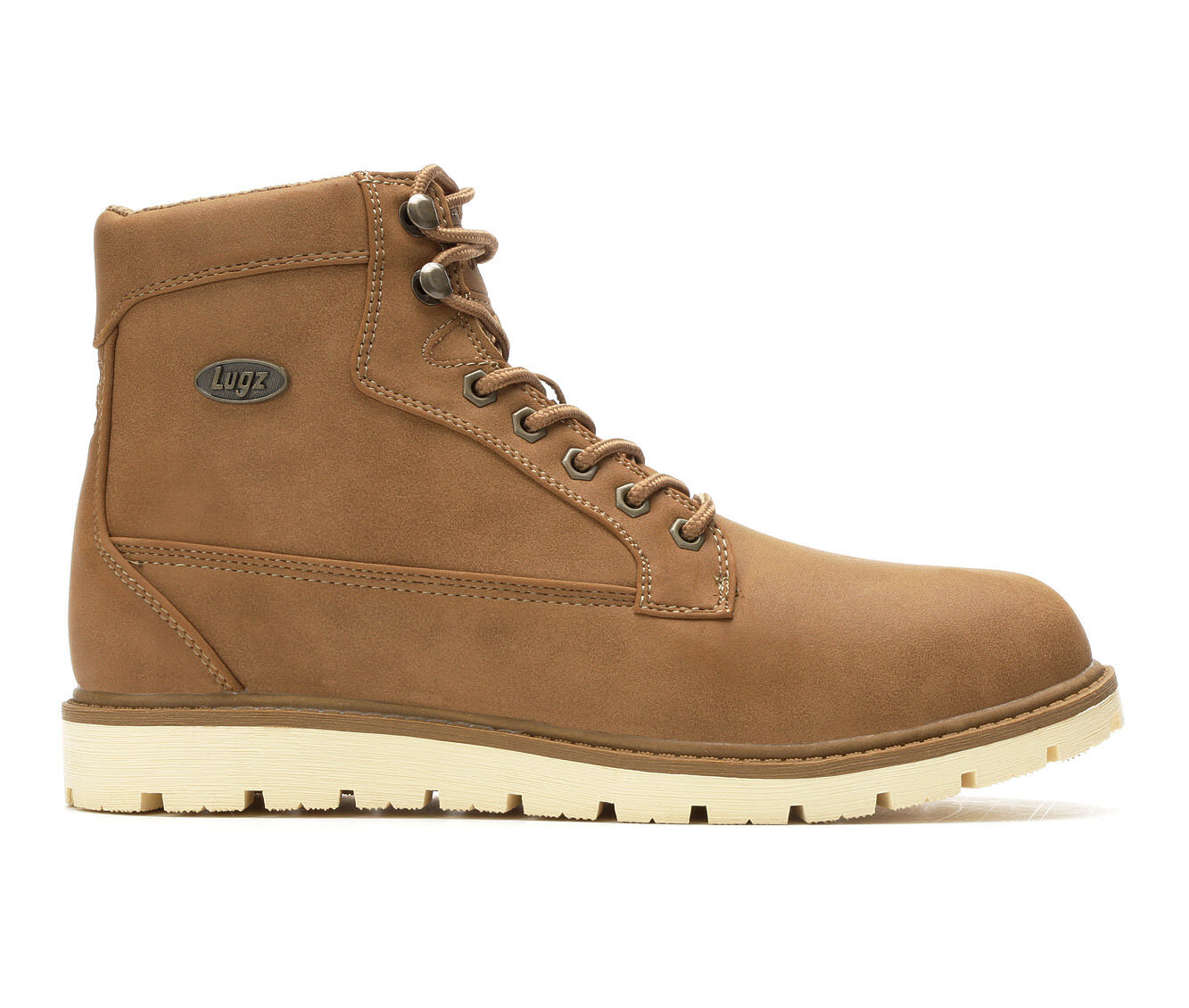Online Cheap Men's Lugz Bedrock Hi Boots Dk Tan/Bone
