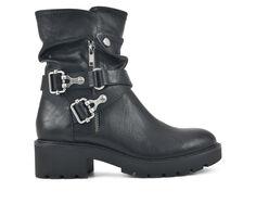 Women's White Mountain Daily Moto Boots