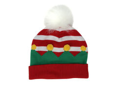 Capelli New York Xmas Pom Pom Hat