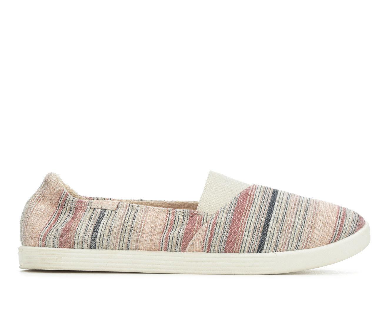 Women's Roxy Danaris Sneakers Pink Stripe