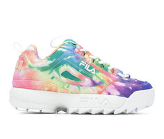 Girls' Fila Big Kid Disruptor II Tie Dye Sneakers