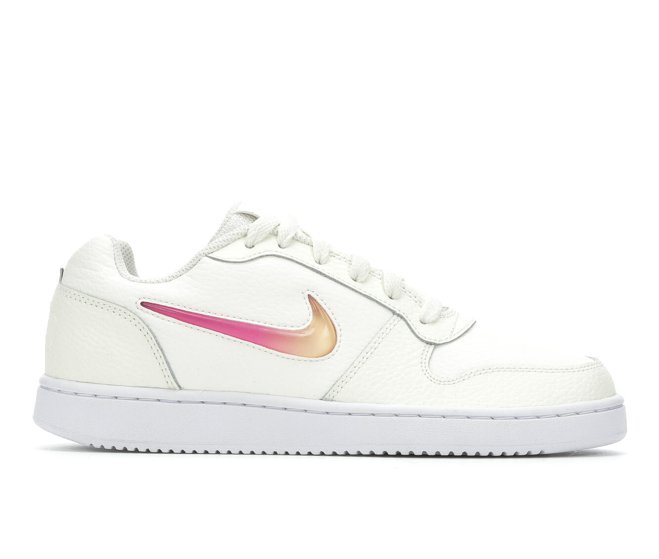 find authentic cheap Women's Nike Ebernon Low Premium Basketball Shoes White/Fuch/Org