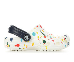 Kids' Crocs Little Kid & Big Kid Classic Splatter Print Clogs
