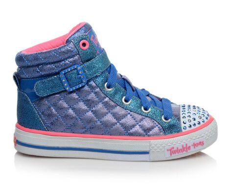 Girls' Skechers Shuffles Sweetheart Light-Up Sneakers