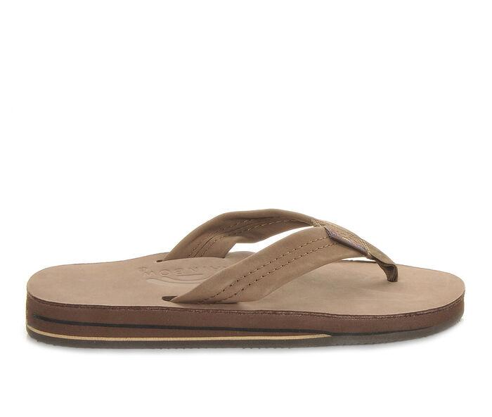Women's Rainbow Sandals Premier Leather Double Layer -302ALTS Flip-Flops