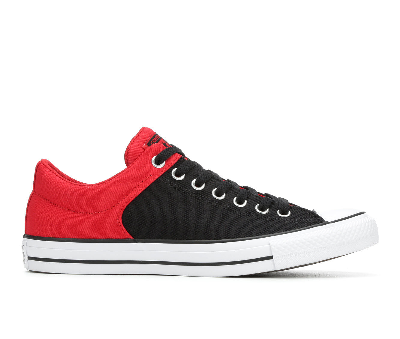 free shipping Men's Converse Ctas High St Ox Material Block Sneakers Red/Blk/Wht