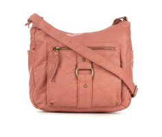 Bueno Of California Washed Crossbody with Front Zip