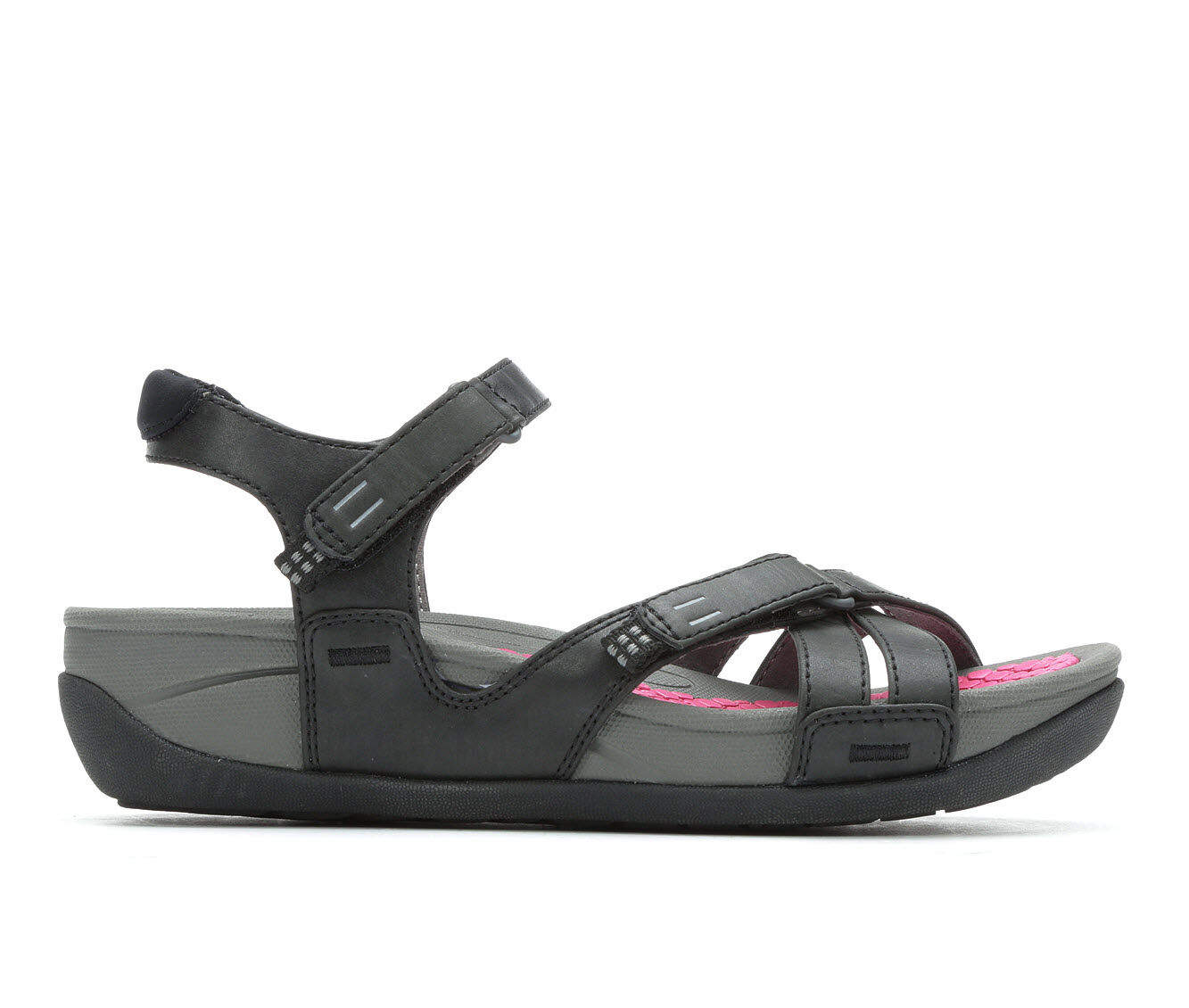 Women's Baretraps Danny Sandals Black/Berry