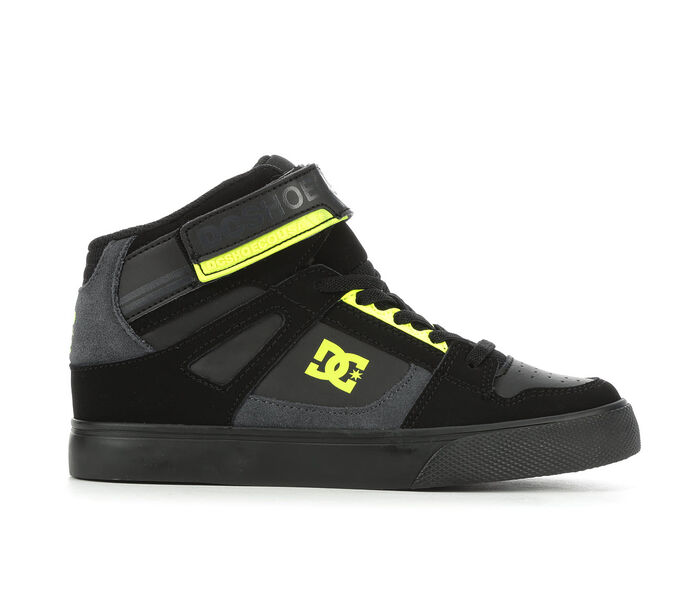 Boys' DC Little Kid & Big Kid Pure High Top Skate Shoes