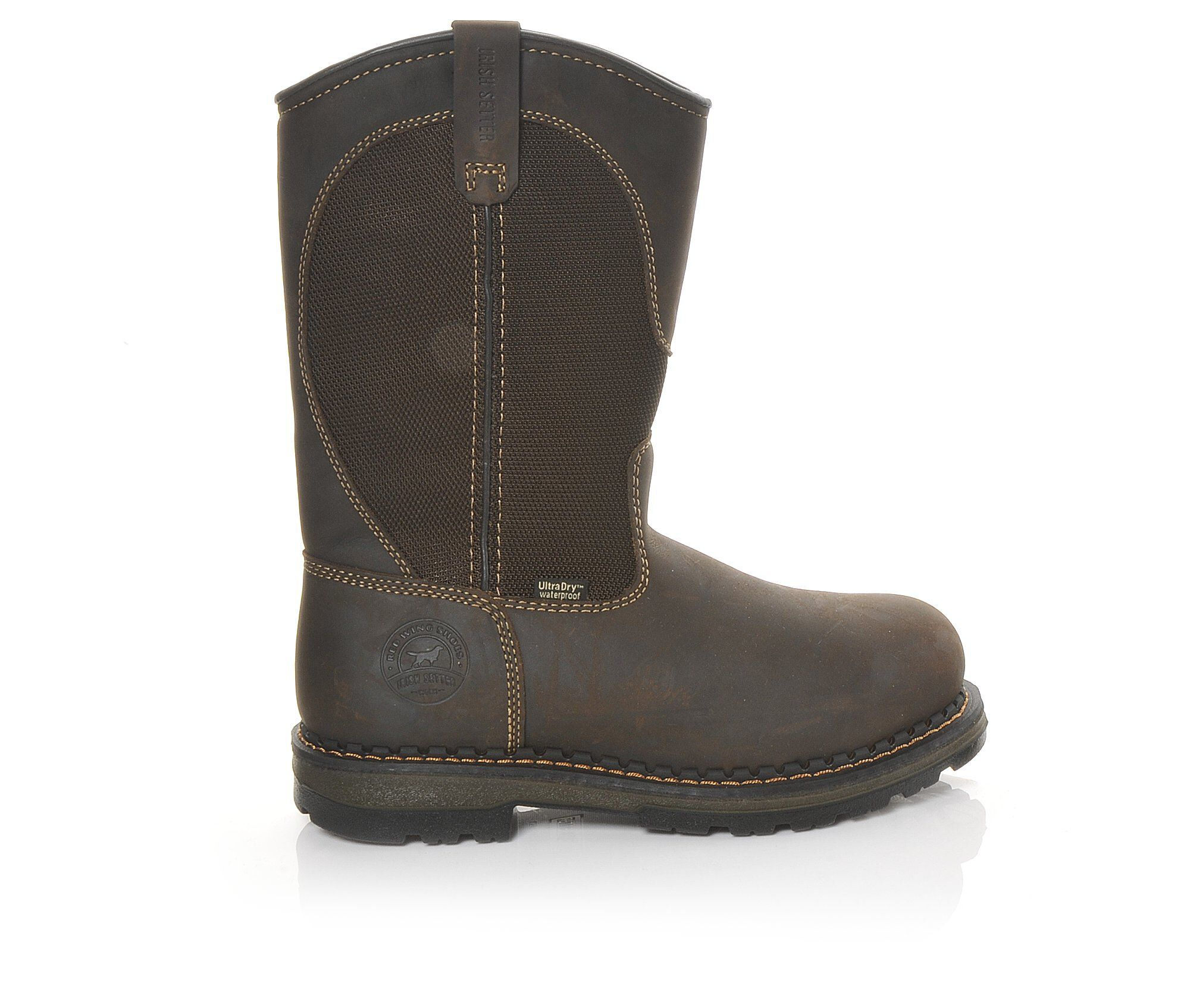 The Most Popular Men's Red Wing-Irish Setter 83900 Ramsey 11in Aluminum Toe Work Boots Brown