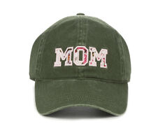 David and Young Mom Floral Patch Baseball Cap