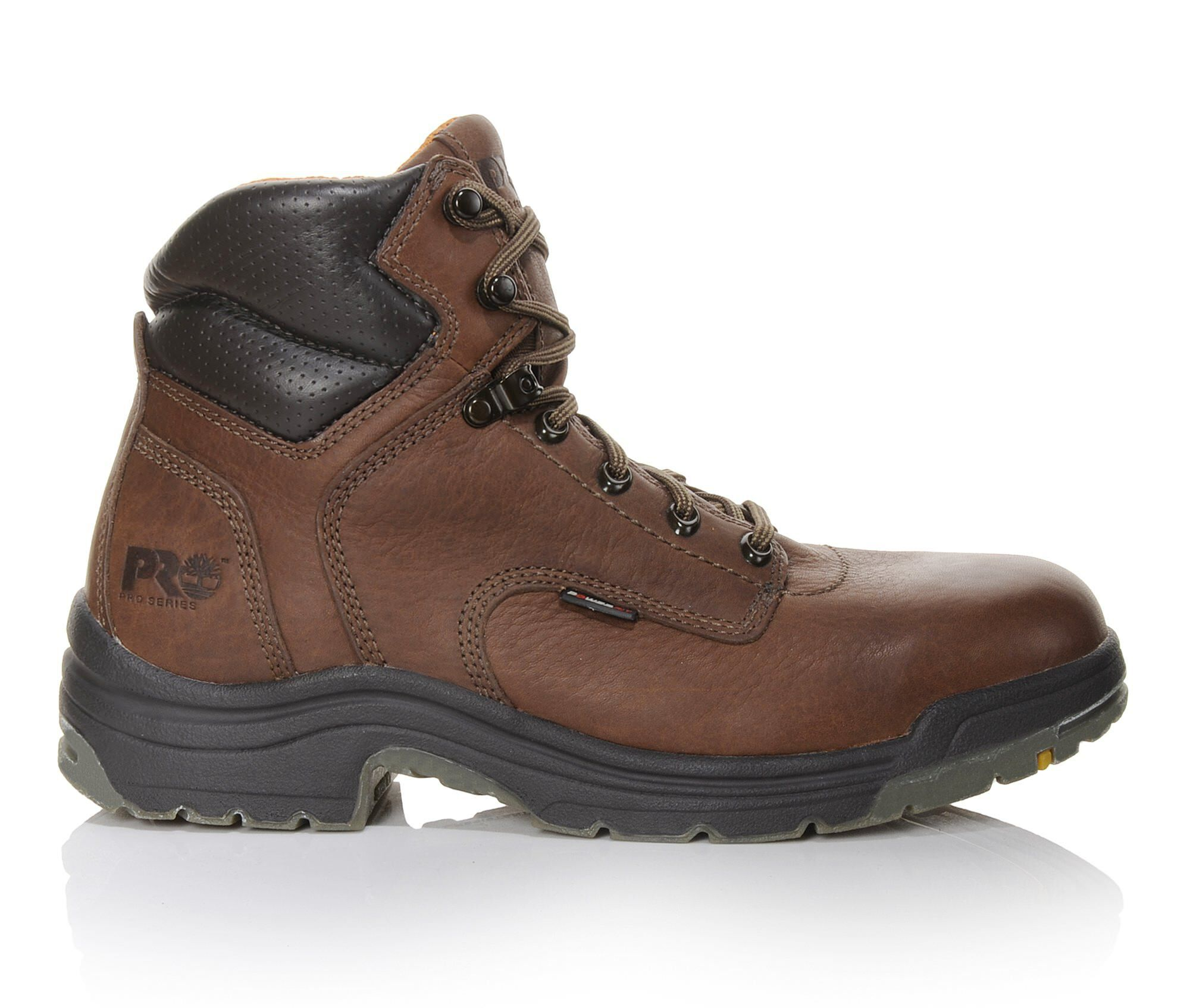 Timberland PRO Boots: Men's TiTAN 24097 Brown 6 Inch Soft Toe EH Work Boots
