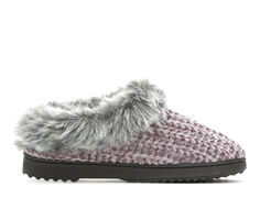 Dearfoams Chenille Knit Clog Slippers
