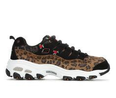 Women's Skechers Leopard Rose 13161 Sneakers