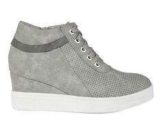 Women's Journee Collection Ayse Wedge Sneakers