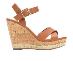 Women's Y-Not Sarah Strappy Wedge Sandals