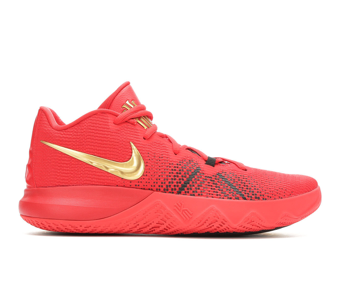 Men's Nike Kyrie Flytrap Basketball Shoes Red/Gold/Black