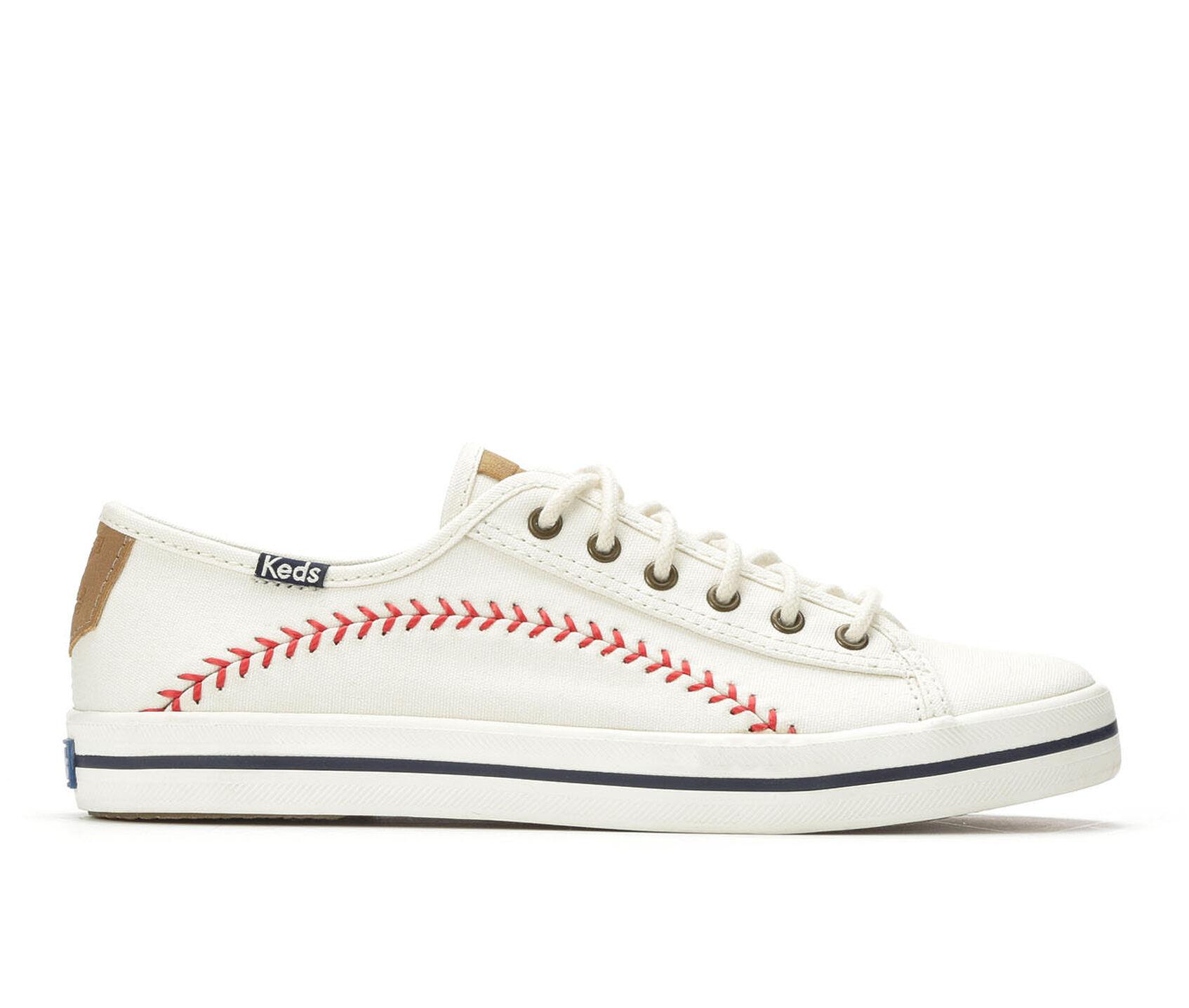 1f4a709f242925 Women s Keds Kickstart Pennant Baseball-Inspired Sneakers