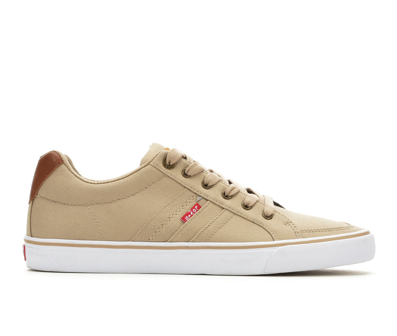 purchase authentic Men's Levis Turner CT Casual Canvas Sneakers Light Khaki