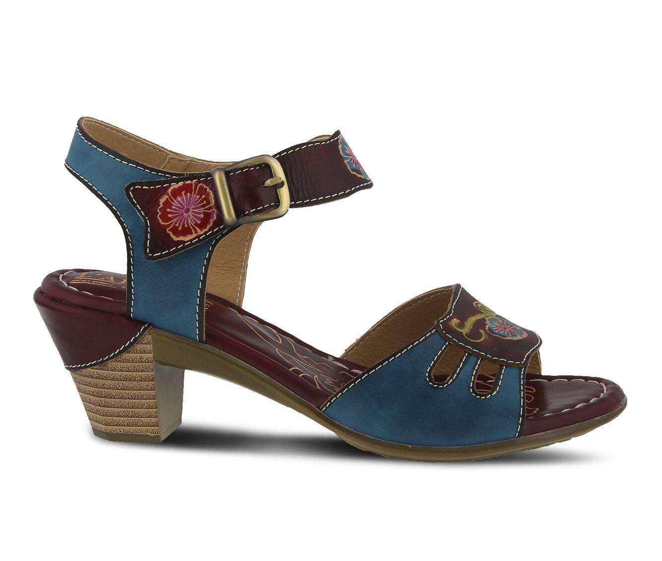 Women's L'ARTISTE Kyleta Dress Sandals Cabernet Multi