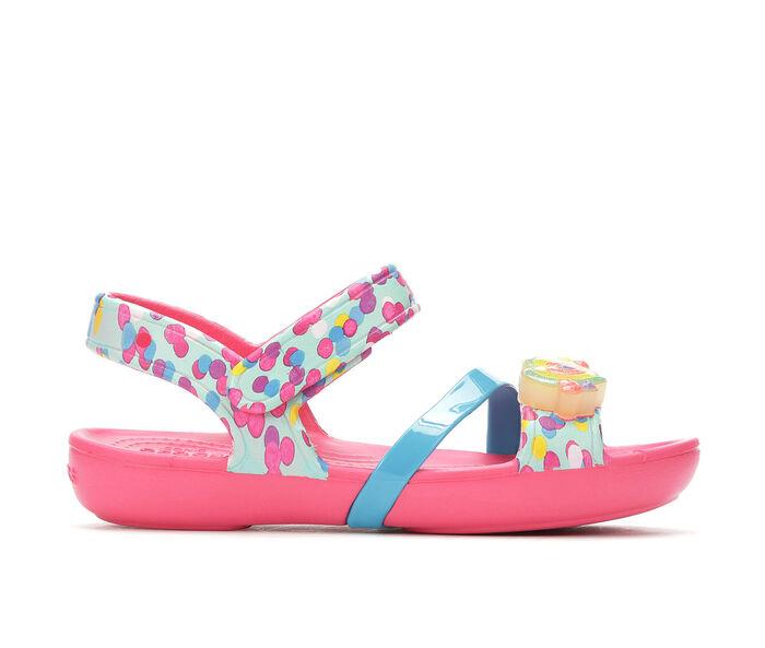 Girls' Crocs Lina Lights Sandal 11-3 Light-Up Sandals