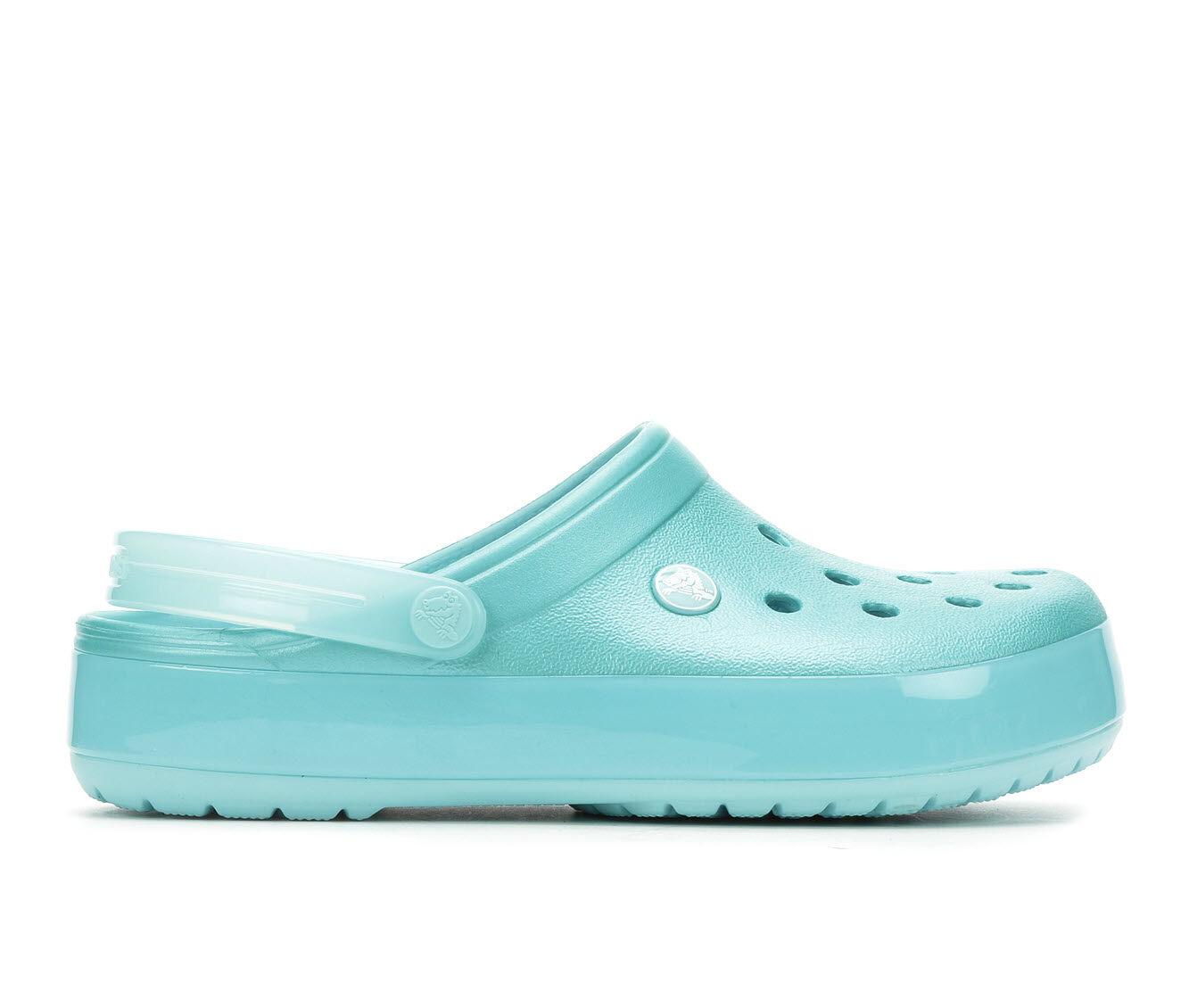 Women's Crocs Crocband Ice Clog Ice Blue