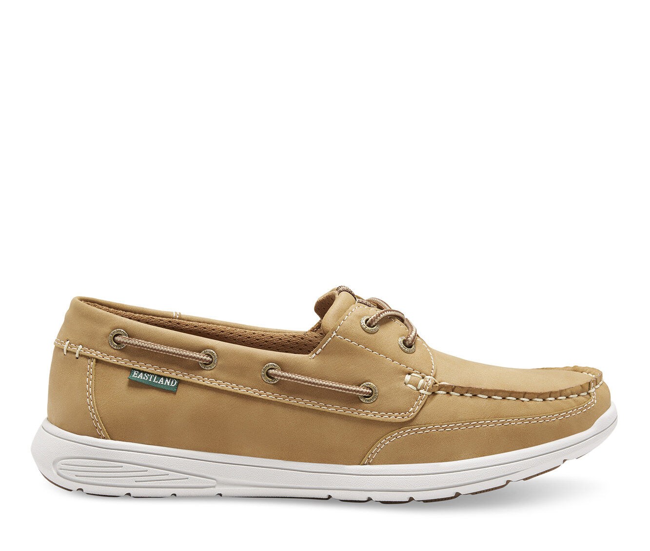 cheapest new Men's Eastland Benton Boat Shoes Khaki