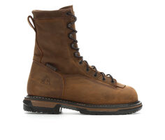 Men's Rocky IronClad 8 In Steel Toe Work Boots