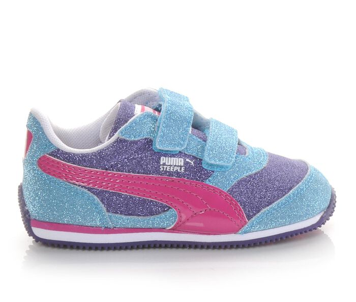 Girls' Puma Infant Steeple Glitz Multi V Athletic Shoes