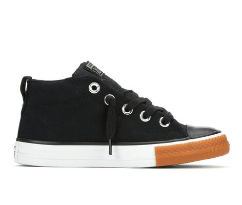 Boys' Converse CTAS Street Mid Gum Sneakers