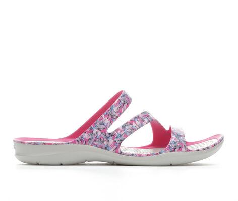 Women's Crocs Swiftwater Graphic Sandal
