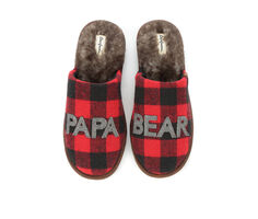 Dearfoams Papa Bear Scuff Slippers