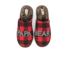 Dearfoams Papa Bear Scuff Slippers