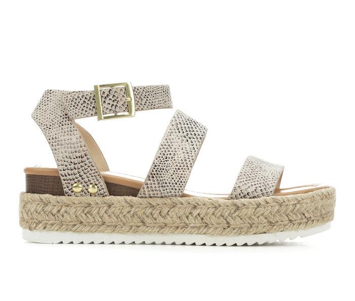 Women's Soda Bryce Flatform Sandals