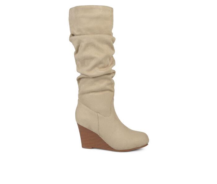 Women's Journee Collection Haze Wedge Knee High Boots