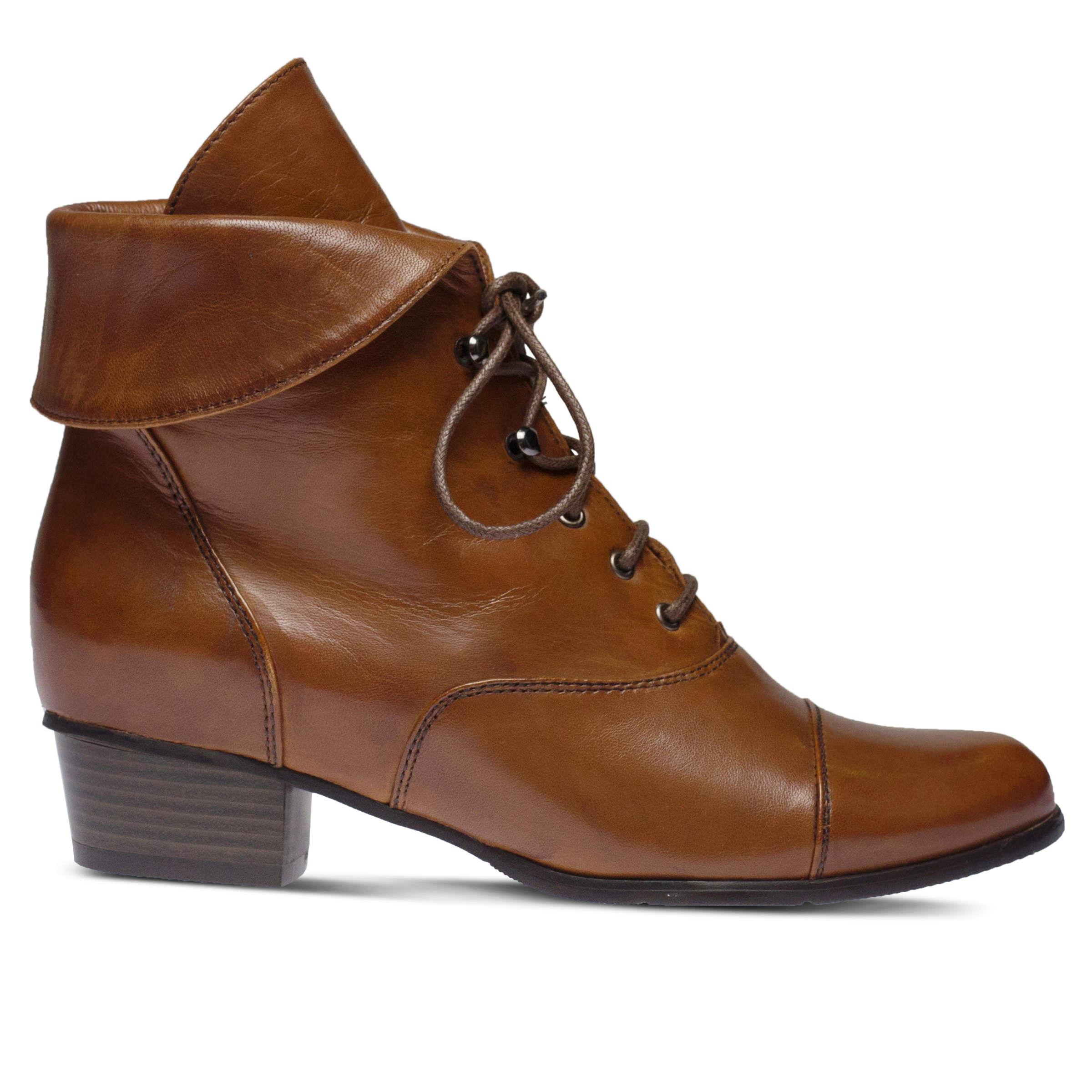 latest series Women's SPRING STEP Galil Booties Medium Brown