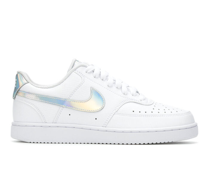 Women's Nike Court Vision Low Iridescent Sneakers