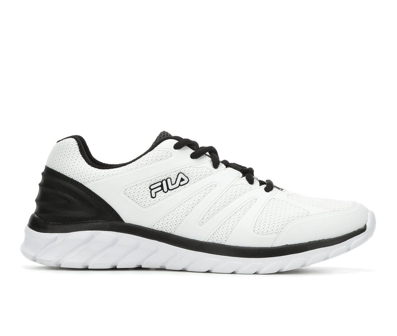Men's Fila Memory Cryptonic 3 Running Shoes White/Black