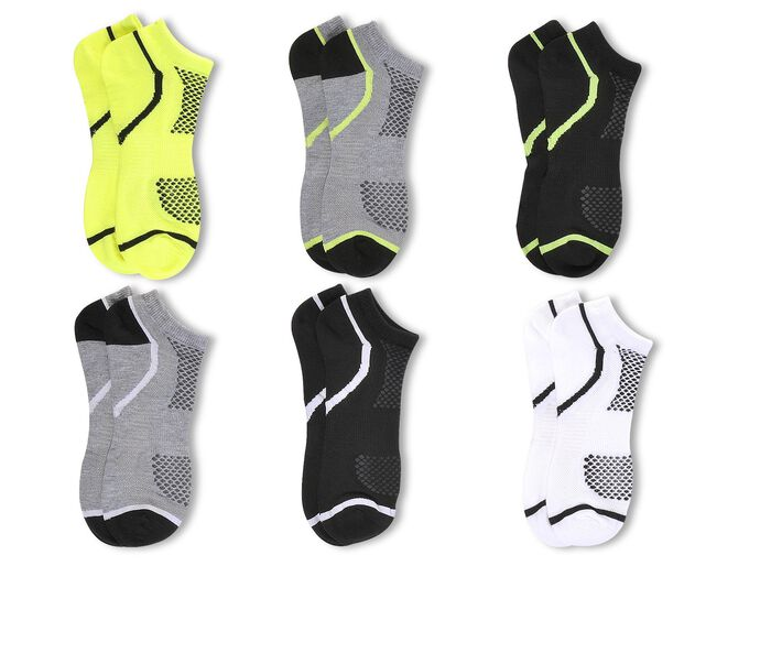 Men's Sof Sole Socks Mens 6pr Sport Lite Low-Cut