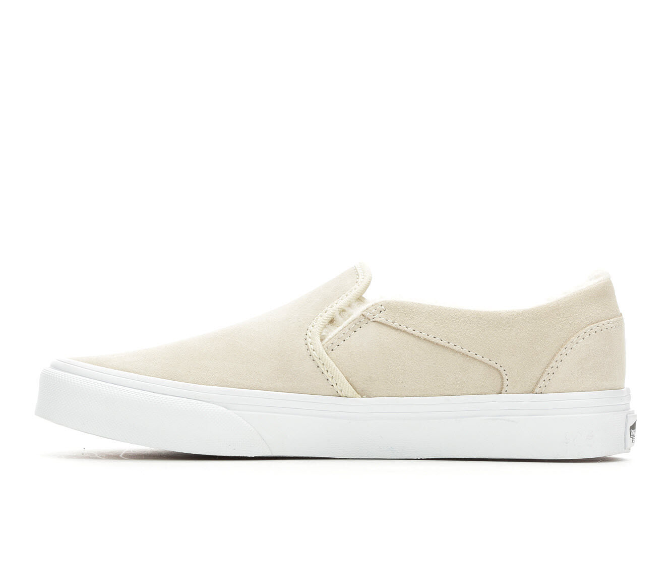 vans asher suede skate shoes