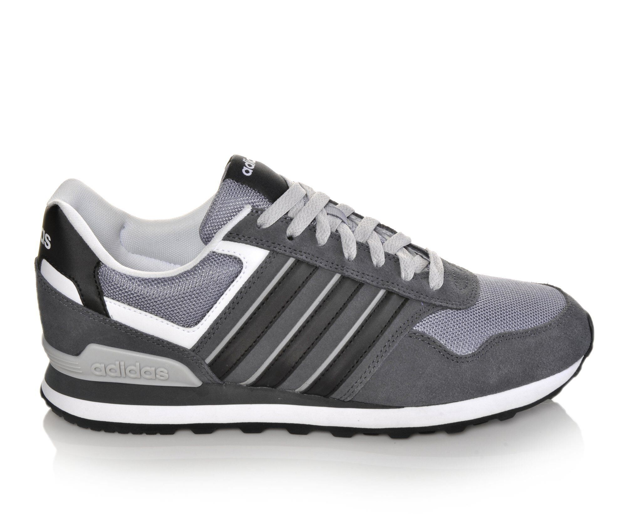 Men Shoes - Adida 10k Grey/Black/White E64OBBHI