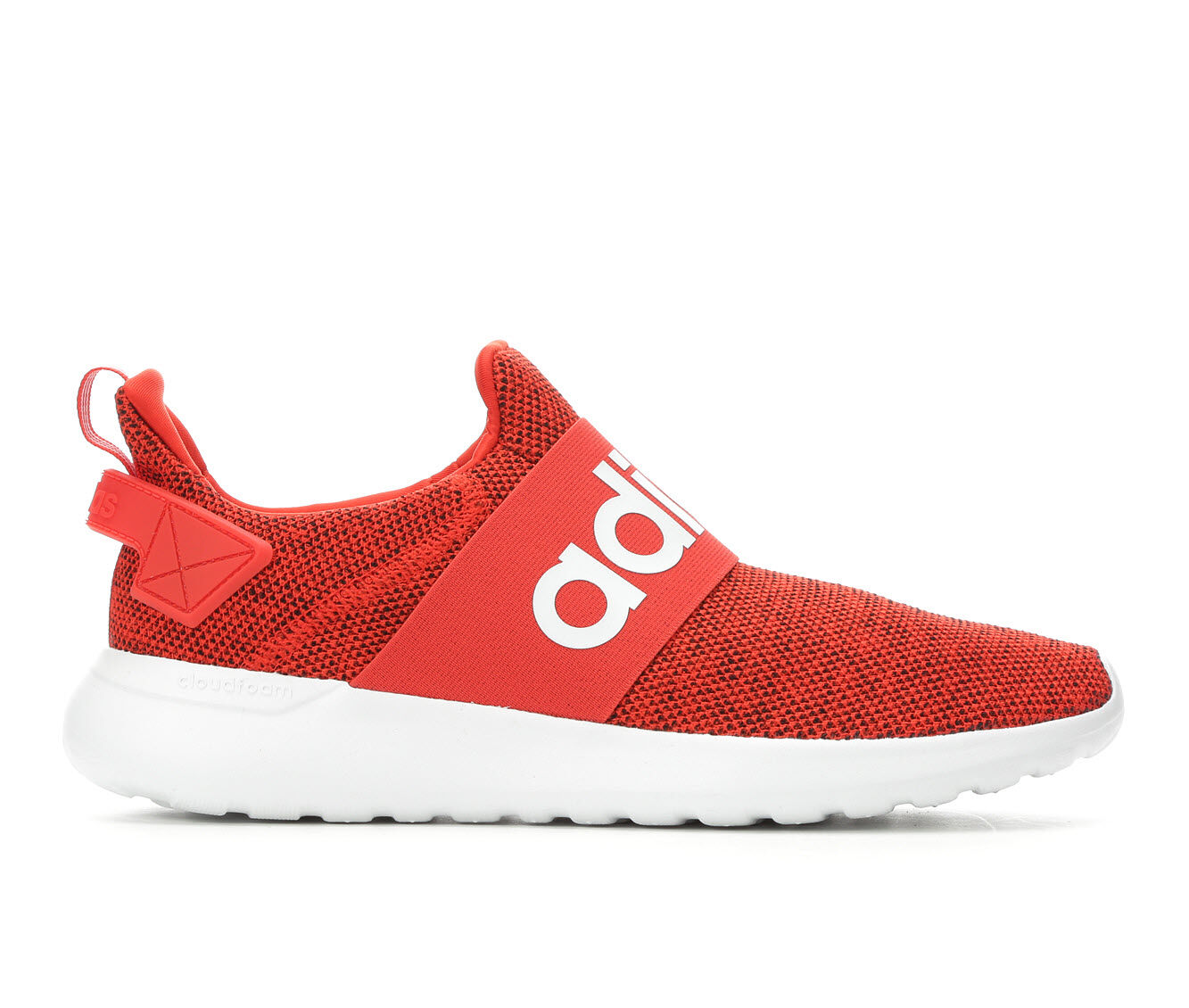 Men's Adidas Cloudfoam Lite Racer Adapt Sneakers Red/White