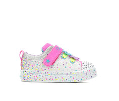 Girls' Skechers Toddler & Little Kid Twi-Lite Confetti Twinkle Toes Light-Up Shoes