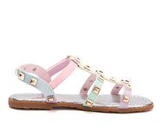 Girls' Olivia Miller Toddler Rainbow Studs Sandals