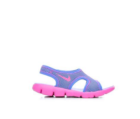 Girls' Nike Infant Baby Sunray 9 Girl Sandals