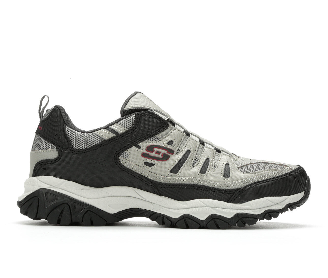 Men's Skechers Wonted 51866 Training Shoes Grey/Black